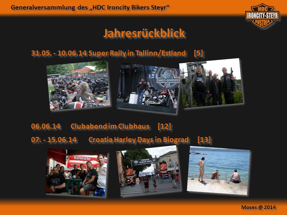 Jahresrückblick 31.05. - 10.06.14 Super Rally in Tallinn/Estland [5]